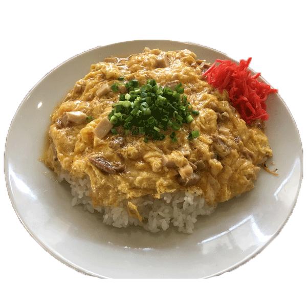 チャーシュー玉子丼